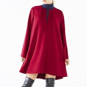 BCBG Runway Alessia Red Runway Collection Dress